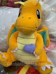 Pokemon Dragonite with Purple Heart Plush (In-stock)