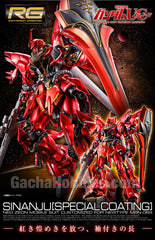 RG Mobile Suit Gundam Unicorn Sinanju Special Coating Limited (Pre-order)