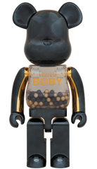 MY FIRST BE@RBRICK INNERSECT BLACK & GOLD Ver.1000% Limited (Pre-Order)