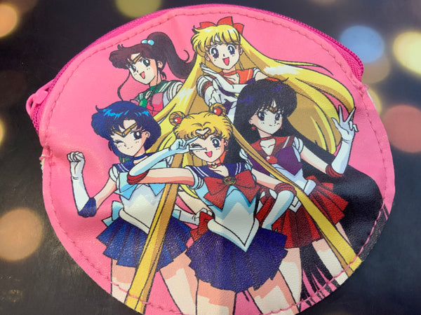 Gashapon Sailor Moon Coin Pouch Set (In Stock)