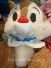 Disney Chip 'n Dale Dale Furry Sitting Plush Winter Version (In-stock)