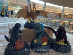 Godzilla High Grand Real Figure 4 Pieces Set (In-stock)