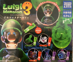 Luigi Mansion 3 Flashlight Keychain 6 Pieces Set (In-stock)