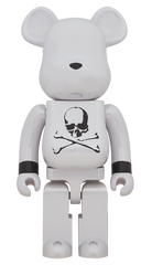 BE@RBRICK Mastermind Japan White Chrome Ver. 1000% Limited (Pre-Order)