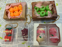 BC Fruit Mascot Keychain Vol.4 5 Pieces Set (In-stock)