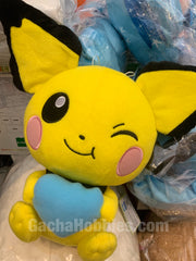 Pokemon Pichu with Blue Heart Plush (In-stock)
