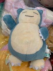 Pokemon I Love Kabigon Snorlax Type B Small Plush Keychain  (In-stock)