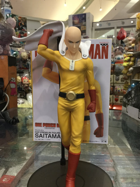 One Punch Man Saitama Figure (In-stock)