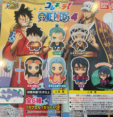 One Piece Chibi Vol 4 Standing Figure 6 Pieces Set