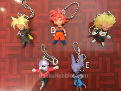Dragonball Mini Figure Keychain Set 5 Pieces (In-stock)