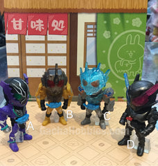Kamen Rider Build Remix Riders 04 Figure Set 4 Pieces (In-stock)