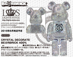 CRYSTAL DECORATE BE@RBRICK 400% Limited (Pre-order)
