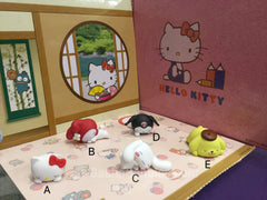 Gashapon Hello Kitty and Friends Sleeping Figure Set (In Stock)
