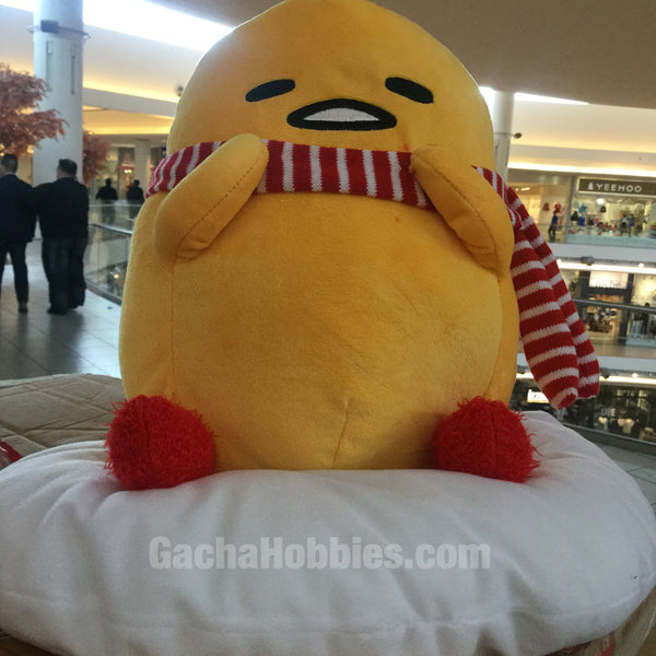 Gudetama Winter Plush with Muffler