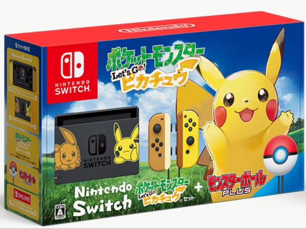 Nintendo Switch 『Pokemon ー Let's Go! 』Pikachu Set Japanese Limited Ver. (Pre-Order)