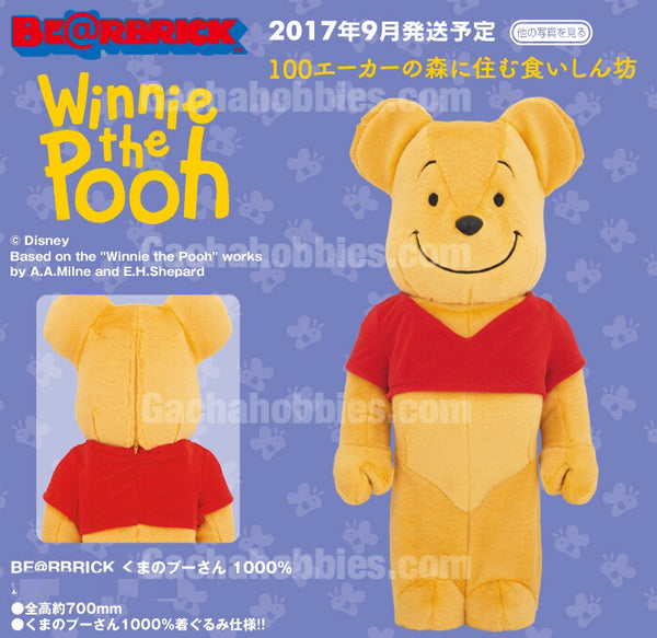 BE@RBRICK Winnie The Pooh 1000% Limited (Pre-Order)