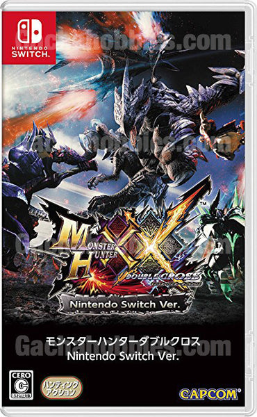 Nintendo Switch Monsters Hunter Double Cross (Pre-Order)