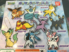 Pokemon Eevee Rubber Keychain Set