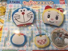 Doraemon and Dorami Plush Keychain Set 4 Pieces (In-stock)