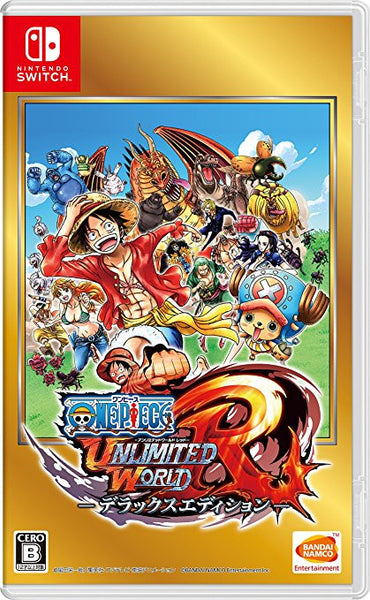 Nintendo Switch One Piece Unlimited World Red- Dulxue Edition (Pre-Order)