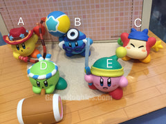 Gashapon Kirby Battle Royale Figure Set (In-stock)
