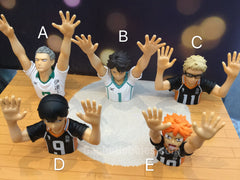 Gashapon Haikyuu Top Half Figure Set (In-stock)