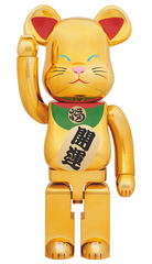 BE@RBRICK Golden Lucky Cat 1000% Limited (Pre-order)