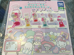 Sanrio Characters Mini gacha machine (In-Stock)