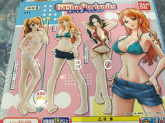 One Piece Girls Gasha Portraits 3 Pieces Set (In-stock)
