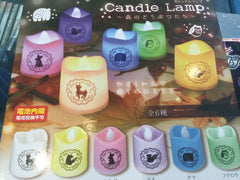 Forest Candle Lamp 6 Pieces Set (In-stock)