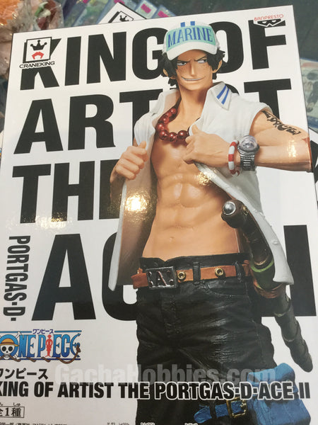 King of Artist The Portgas:  D•Ace II  26cm PVC (In-Stock)