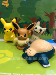 Pokemon Squishy 4 Pieces Set (In-stock)