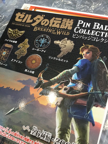 Legend of Zelda -Breath of the Wild- Pin Badge Collection