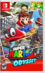 Nintendo Switch Super Mario Odyssey English Ver,Japanese Ver. 超級瑪利歐 奧德賽 中文版 (Pre-Order)