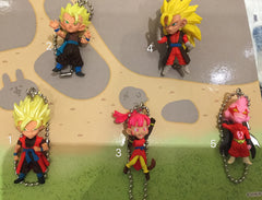 Dragonball Figure Keychain (In-stock)
