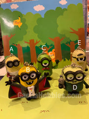 Gashapon Minions Keychain Set Halloween Ver. (In Stock)