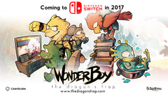 Nintendo Switch 神奇小子:龍之陷阱 中文版 NS WONDER BOY: THE DRAGON'S TRAP ( Multi language ) (Pre-Order)