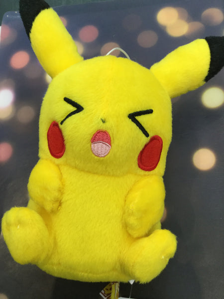 Pokemon Pikachu Plush with Strap 4 (In Stock)