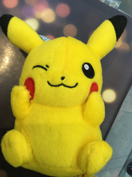 Pokemon Pikachu Plush with Strap 1 (In Stock)