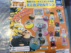 Gashapon Despicable Me Gacha Machine Set (In Stock)