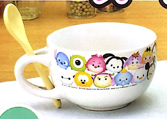 Disney's Tsum Tsum Ceremic Bowl and Spoon Set