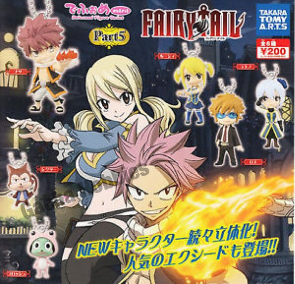 Fairy Tail Keychain Set Part 5