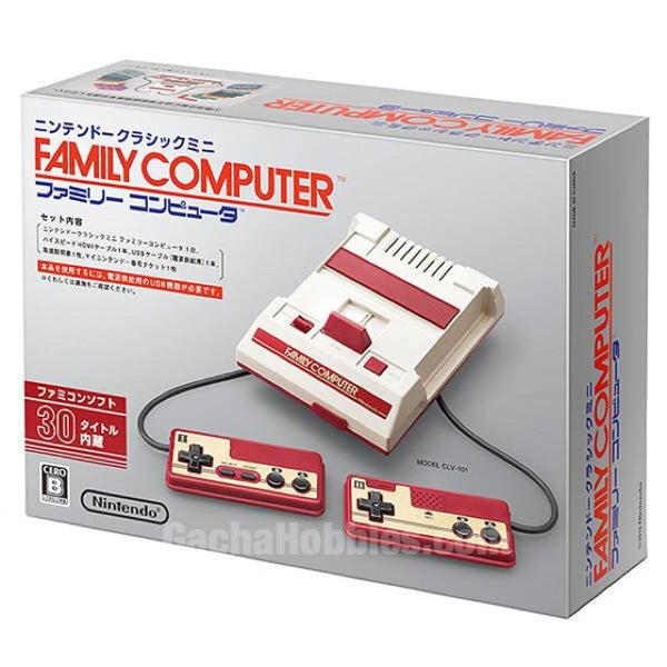 Nintendo Famicom Mini HDMI-Output with 30 Games 迷你高清紅白機 内置30款經典遊戲