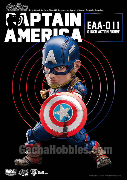 EGG Attack Action Avergers: Age of Ultron Captain America (Pre-order)