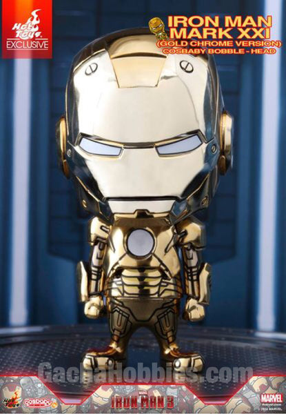 Cosbaby Ironman MARK XXI Gold Chrome Exclusive (Pre-order)