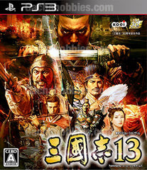 PS3 Sangokushi 13 Chinese Subtitles or Treasure Box (Pre-order)