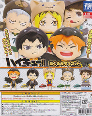 Haikyuu Transformed Keychain Set