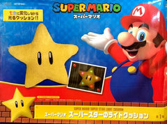 Super Mario Super Star Light Up Cushion