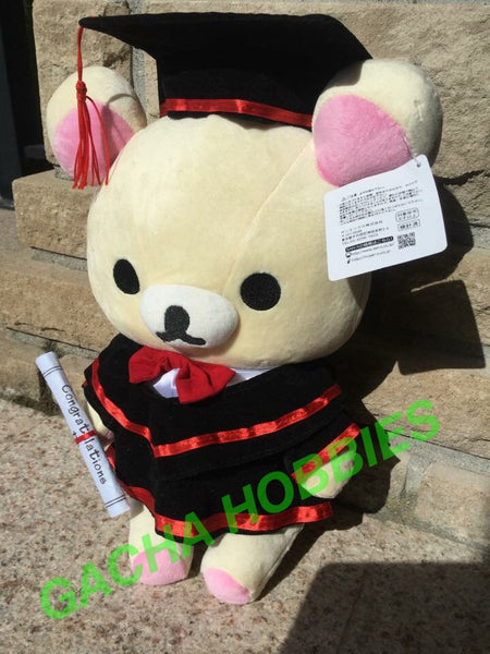 Graduation Rilakkuma - White (Relax Bear)