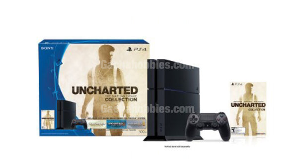PS4 Uncharted Bundle 500GB: The Nathan Drake Collection - Bundle Edition (Pre-order)